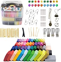 Tavolozza 60 Colors Polymer Clay Set, 1oz/Block Oven Bake with 19 Sculpting Clay Tools and 14 Kinds of Different Accessories, Non-Stick, Non-Toxic, Ideal DIY Gift for Kids