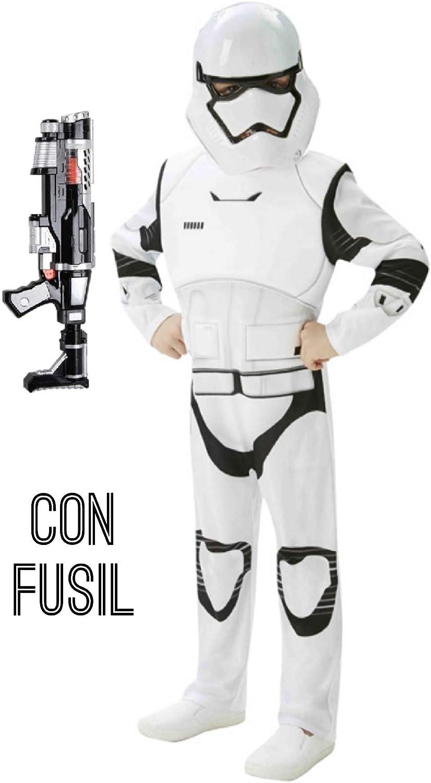 Disfrazjaiak Kostüm Stormtrooper deluxe, mit dem gewehr - Niño, de 5 a 6 años B077SN82BC Erste in seiner Klasse  | Zürich Online Shop