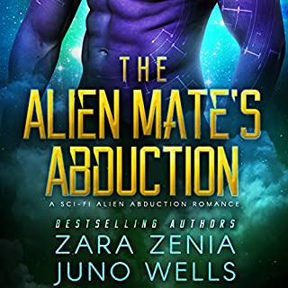 The Alien Mate's Abduction audiobook cover art
