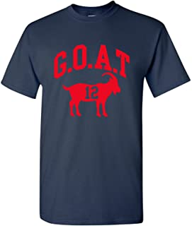 Sponsored Ad - UGP Campus Apparel Goat Greatest of All Time New England Football T Shirt