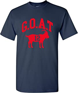 tom brady goat shirt