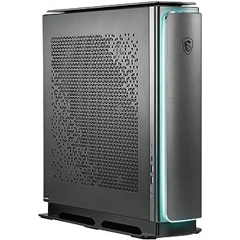 MSI Prestige P100 9SI-061EU - Ordenador de sobremesa (Intel Core i7-9700K, 32 GB RAM, 1 TB SSD, 2 TB HDD, GTX 1660 Super Ventus XS, Windows 10 Pro) negro
