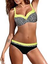 HYIRI 2019 New Temperament Bandage Lovely Bikini Set,Women's Bandeau Push-Up Brazilian Swimwear Beachwear Swimsuit