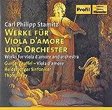Stamitz: Werke f.Viola d'Amore - . Teuffel