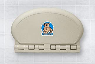 "product image for Koala Kare KB208-14 Baby Changing Station, 34"" x 21"" Horizontal Oval Surface Mounted - Sandstone"