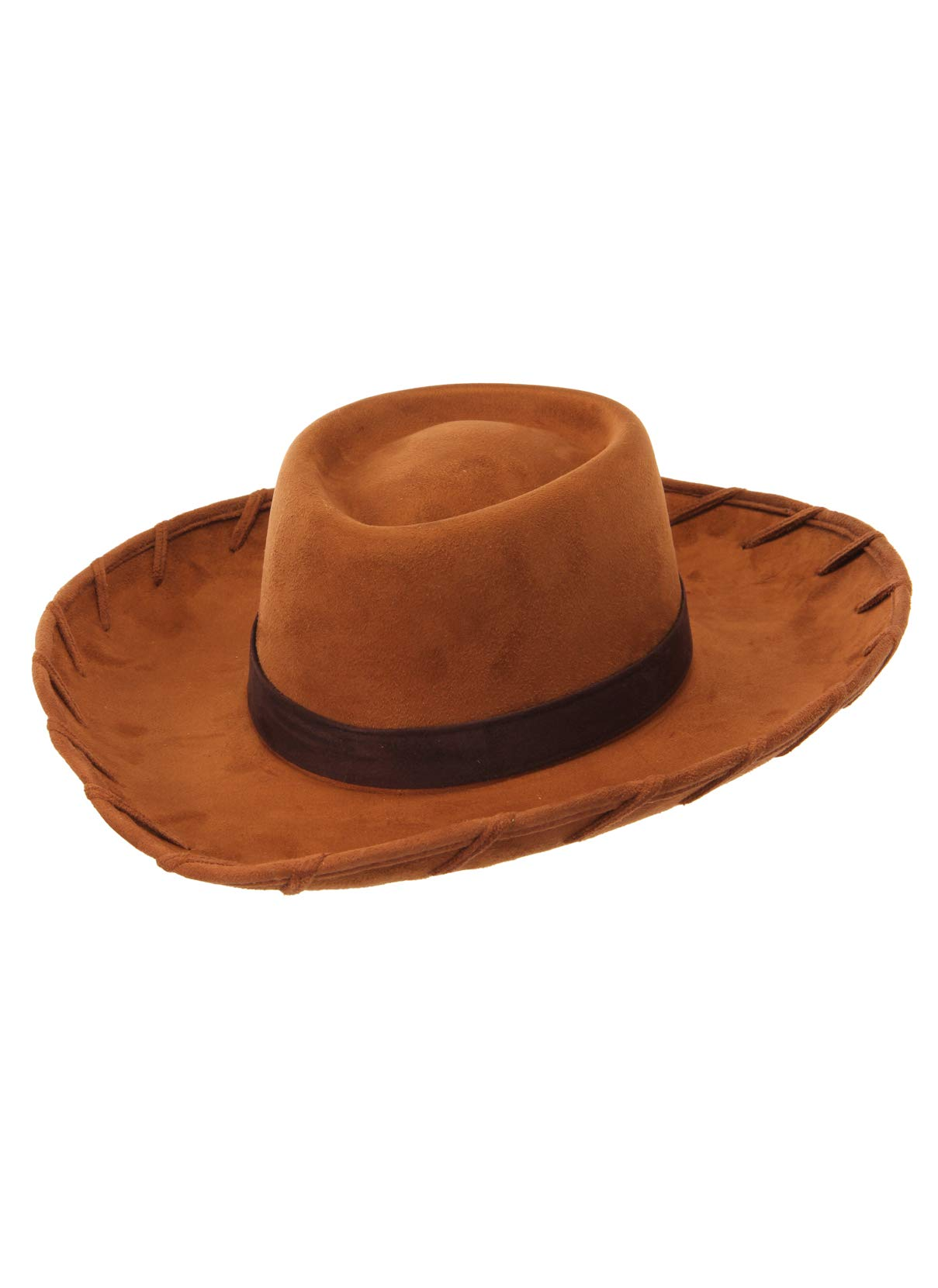 Childs Woody BROWN COWBOY Hat Toy Story Western Wild West Costume Accessorio