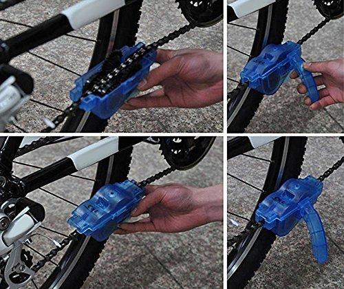 labego portátil bicicleta limpiador de cadena de bicicleta ...