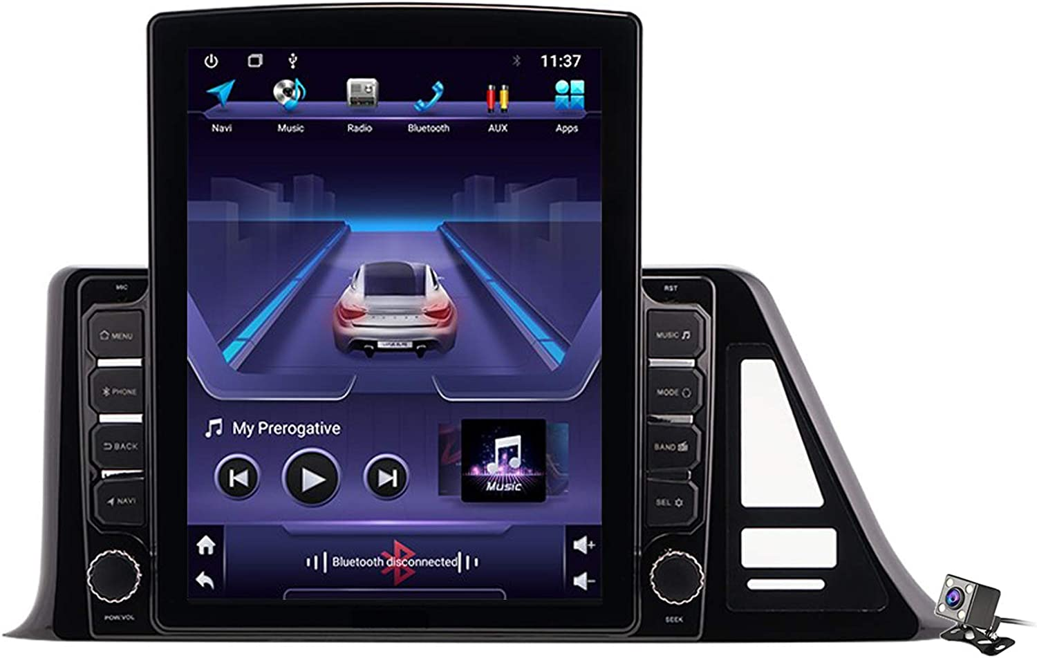 HBWZ Los Angeles Mall Android 9.0 Car Stereo Radio Max 84% OFF Toyota CHR for C-HR 2016-2020