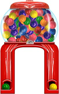 Candy Gumball Machine Archway Standee Candy Party Prop Standup Photo Booth Prop Background Backdrop Party Decoration Decor Scene Setter Cardboard Cutout