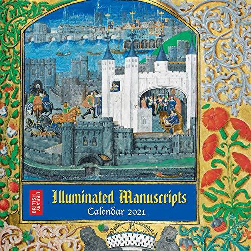 『British Library - Illuminated Manuscripts Wall Calendar 2021 (Art Calendar)』のトップ画像