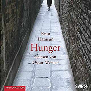 Hunger                   By:                                                                                                                                 Knut Hamsun                               Narrated by:                                                                                                                                 Oskar Werner                      Length: 2 hrs and 36 mins     Not rated yet     Overall 0.0