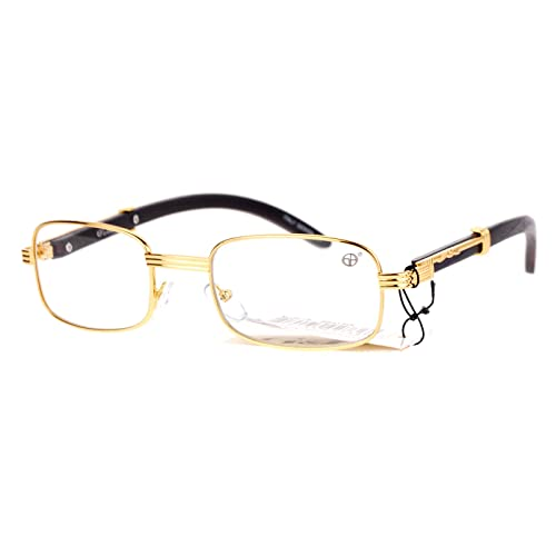 a1173958d4d9 SA106 Art Nouveau Vintage Style Oval Metal Frame Eye Glasses