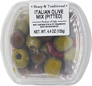 Fresh Pack Italian Olive Mix Pitted, 4.4 oz