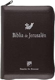 Biblia de Jerusalén de bolsillo con cremallera : modelo 3