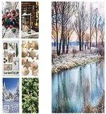 Hochwertiger Textilbanner Weihnachten