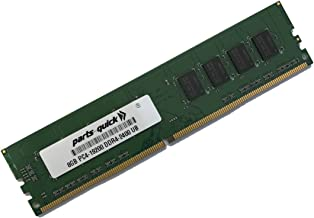 8GB (1X8GB) Memory for OMEN by HP 880-130, 880-140, 880-150, 880-160 Gaming Desktop PC Series DDR4-2400 Non-ECC UDIMM (PARTS-QUICK Brand)
