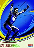 Cricket World Cup – Sri Lanka – Wall Poster Print -