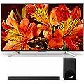 Sony XBRX850F 4K Ultra HD Smart LED TV (2018 Model) with Sony (HT-X9000F) X9000F 2.1ch Soundbar with Dolby Atmos