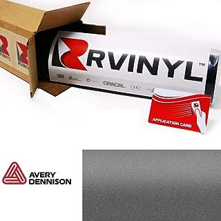 Avery SW900 845-M Matte Metallic Charcoal Supreme Wrapping Film Vinyl Vehicle Car Wrap Sheet Roll - (12