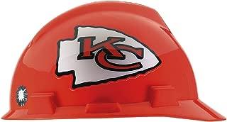 MSA 818398 NFL V-Gard Protective Cap, Kansas City Chiefs