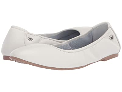 Minnetonka Anna (White Leather) Women
