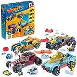 Mega Construx Personaliza tu coche Hot Wheels, juego de construcción para niños con más de 55 piezas (Mattel GVM13)