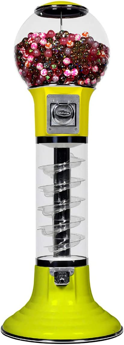 Popular brand in the world Wiz-Kid Spiral Gumball Machine Yellow Cent shipfree Color 25 Red Track