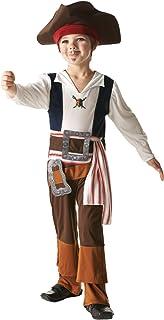 Rubies Captain Jack - Piratas del Caribe - Traje de disfraces para niños