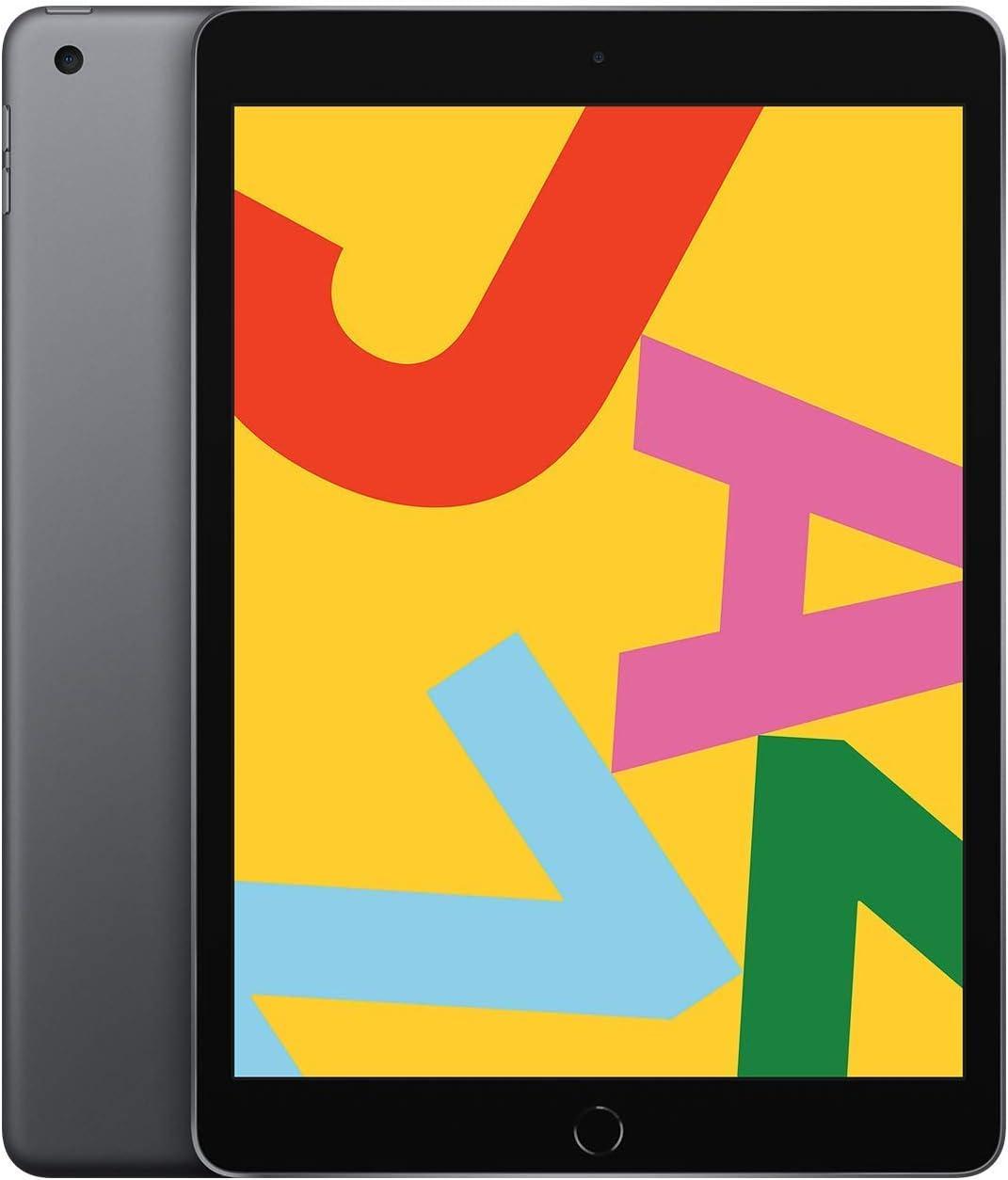 Apple iPad (10.2-Inch, Wi-Fi, 128GB) - Space Gray (Renewed)