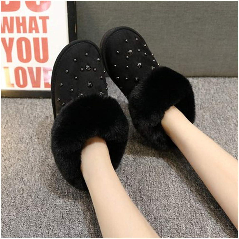 SIKESONG Schneeschuhe Plus Velvet Schuhe Winter Warme Schuhe Aus Baumwolle Schuhe Der Neue Flache Stiefel Frauen Frauen Herbst.