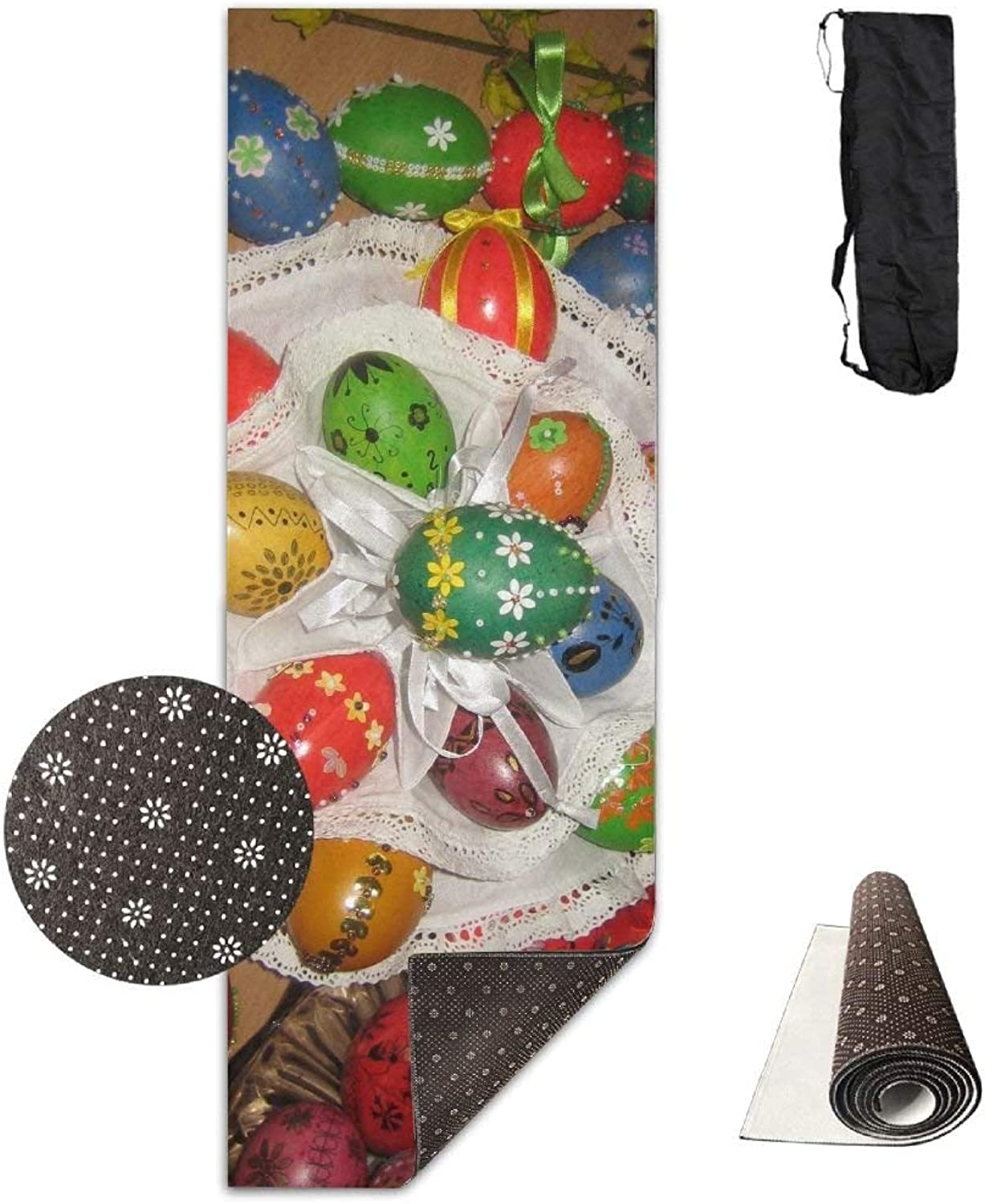 Pascha Eggs Dyed Napkins Table Holiday ECO Aqua Power Kinematic Iyengar Kundini Hot Pilates Gymnastics Hatha Yoga Mat and Other Mats That Need to Be Performed On The Ground