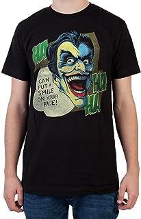 Bioworld Heroes & Villains Joker Black T-Shirt