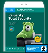 Kaspersky Total Security 5-Device, 2-Account KPM, 1-Account KSK 1 year (Single Key) (Email Delivery in 2 Hours - No CD)