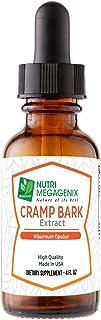 Sponsored Ad - Nutri Megagenix Cramp Bark Drops 650 mg. 4 oz. Bottle. Liquid Extract. Cramp Bark (Viburnum Opulus).