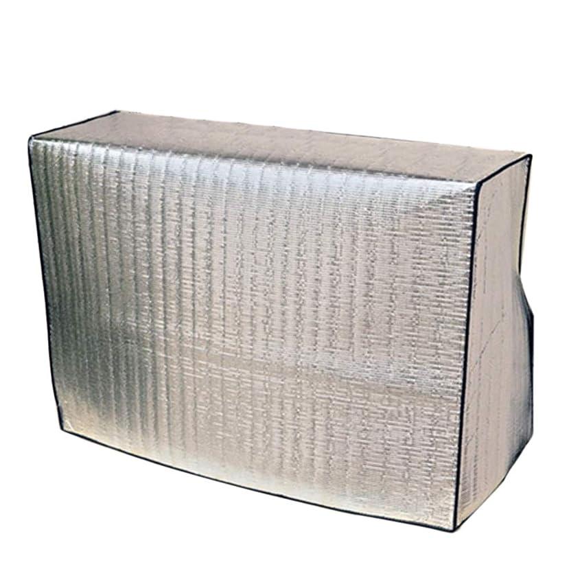 動揺させるネコロードされたエアコン室外機カバー 劣化防止 省エネ 節電 保護カバー 冬用 保温防水 家庭用