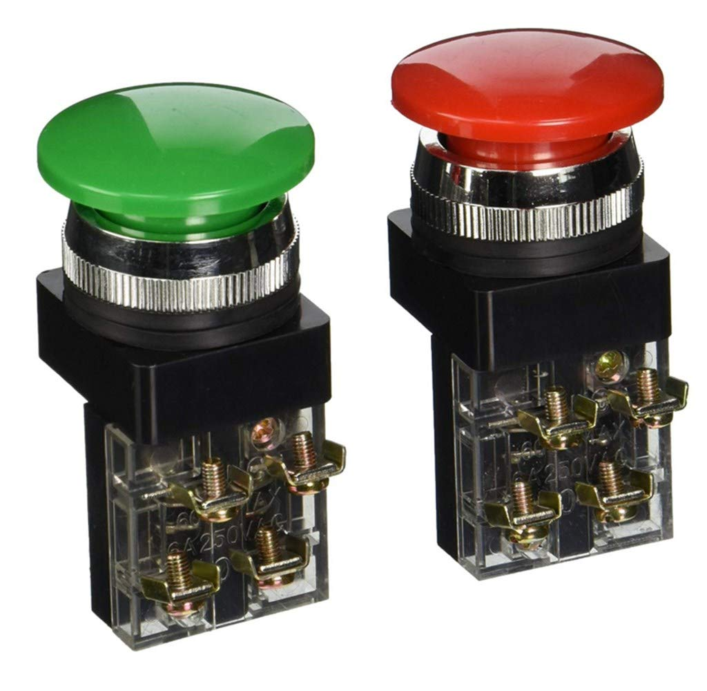 Purchase Push Max 45% OFF Button Switch,Momentary Mushroom Head Swit