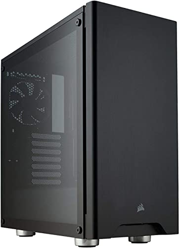 Corsair Carbide 275R Mid-Tower PC Gaming Case, Tempered Glass - Black