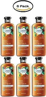 PACK OF 6 - Herbal Essences Bio:renew Smooth Golden Moringa Oil Conditioner 13.5 fl. oz. Squeeze Bottle