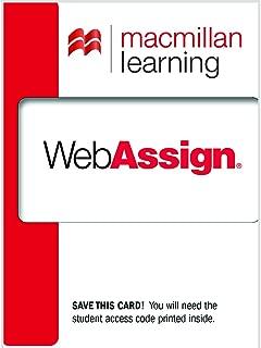 WebAssign Standard Course Access Code