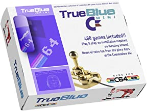 Polai True Blue Mini Ultimate Pack para C64 Mini, C64, 480 Juegos