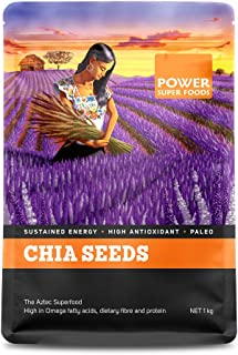 Power Superfoods Raw Chia Seeds 1 kg