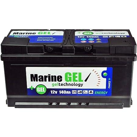 Gelbatterie 120ah Bootbatterie Boot 12v Versorgungsbatterie Starterbatterie Auto