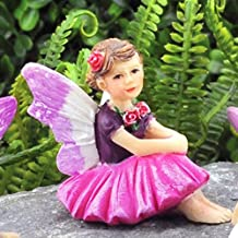 My New Fairy Miniature Expressions Miniature Fairy Garden Tiny Fairy Rosie (New) - My Mini Garden Dollhouse Accessories fo...