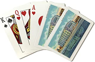 Rock Island, Illinois - Exterior View of the New Armory (Playing Card Deck - 52 Card Poker Size with Jokers)