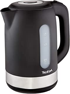 Tefal Kettle 1.7 litre, 2400 watts, with removable anti-scale filter,Black K0330827