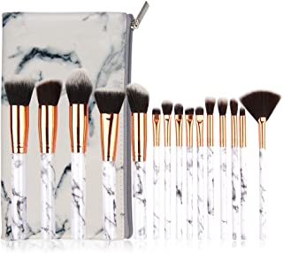 15 Pcs Makeup Brush Set Professional Face Eye Shadow