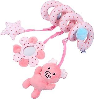 Toddmomy Bilstol leksak baby raser leksak djur spjälsäng leksak bilstol barnvagn leksak säng spiral leksak för nyfödda spä...