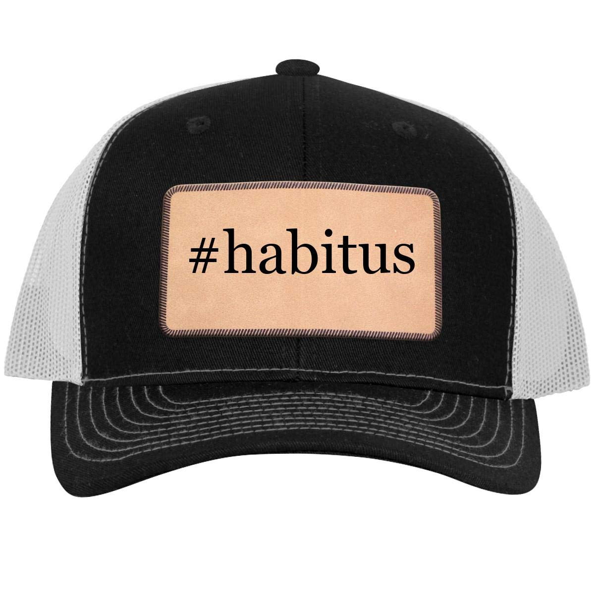Leather Light Brown Patch Engraved Trucker Hat One Legging it Around Tiddy Beer Weird Provisos