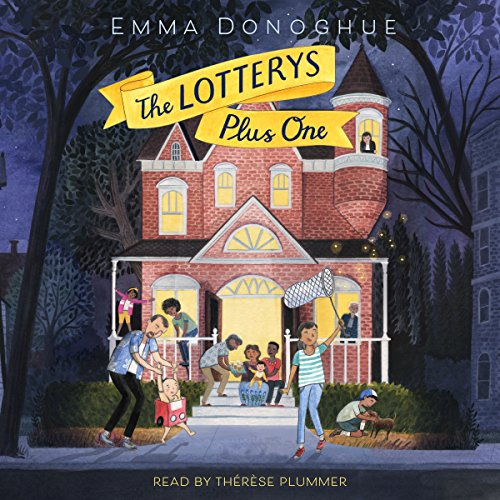 The Lotterys Plus One audiobook cover art