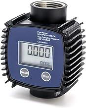 QWORK Digital Inline Nutating Disc Chemical Transfer Meter